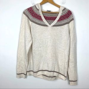 Columbia Sweater Top Size Large Long Sleeve EE5